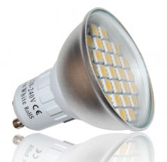 LEDHive 27SMD GU10 6W - 240V - 480LM Dimmable