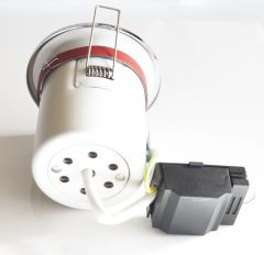 LEDHive Adjustable Premium GU10 Downlight -  Fire Rated - Chrome Finish
