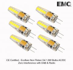 Ecoflare G4 1.8W Sanan AC/DC Flicker Free (Pack of 6)